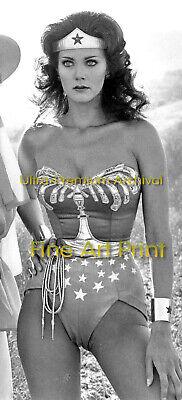"LYNDA CARTER Wonder Woman Puffy Cameltoe - Hi-Res ARCHIVAL Photo (8.5"" x 11"")"