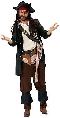 Captain Jack Sparrow Herrenkostüm Deluxe NEU