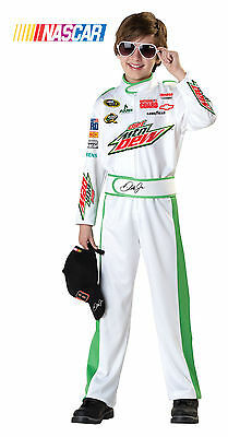 NASCAR Dale Earnhardt Jr Race Car Driver Child Costume
