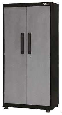 Metal Garage Storage Cabinet Tool Box Steel Chemical Wall Locker 72 Shelves New