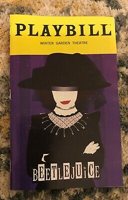 Beetlejuice Broadway Playbill Limited January 2020 Edition Lydia Alex Brightman