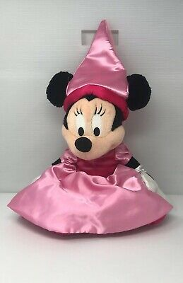 "Walt Disney Theme Park Minnie Mouse Princess 21"" Plush Pink Satin Dress Hat (11) - Harry Potter Themed Dress"