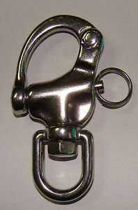 3-45-034-316-Stainless-steel-swivel-snap-shackle-Marine-Boat-Sailing-Yacht-SS029