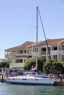 sailing sail in style on a 14m yacht