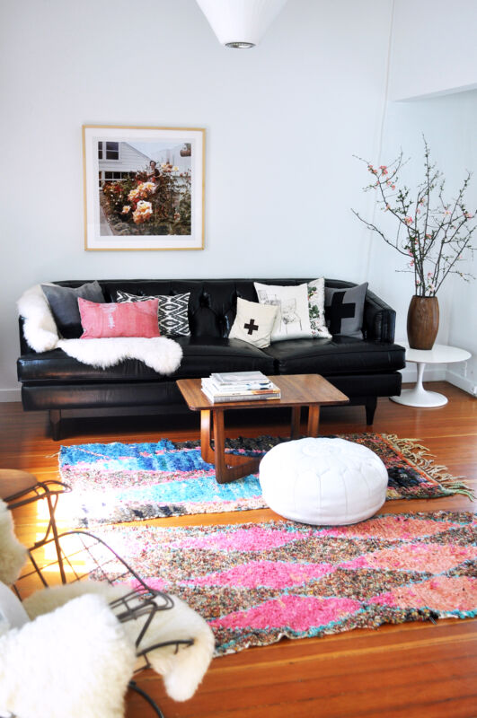 Decorating With Vintage Moroccan Rugs Add Vibrant Personality To Your  Neutral Decor.