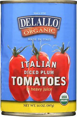 Organic Diced Tomatoes - DeLallo-ORGANIC DICED TOMATOES (12-14 OZ)