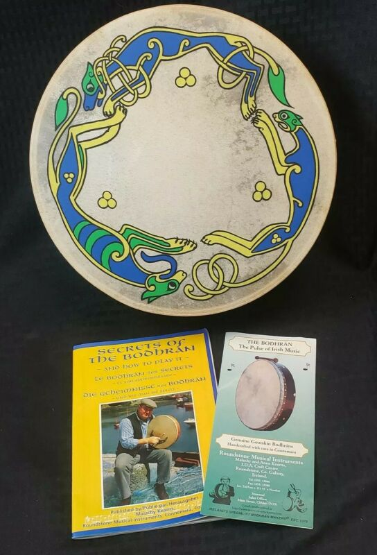 "Waltons Bodhran Celtic 12"" Drum Irish Traditional Musical Instrument"