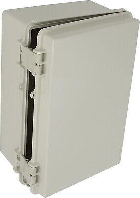 Bud Nema Plastic Box Solid Door Electrical Enclosure Waterproof 11.3x7.5x5.5 New