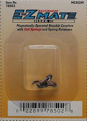 BACHMANN N SCALE EZ MATE MAGNETICALLY OPERATED KNUCKLE COUPLERS BAC 78502 MED
