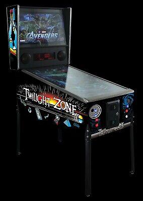 "4K Virtual Pinball Machine - 49"" Bezel Free Edge-to-Edge Design - FULL SIZE"