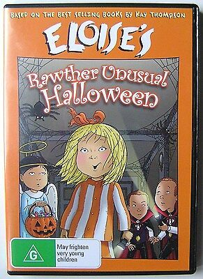 ELOISE'S RAWTHER UNUSUAL HALLOWEEN DVD CARTOON ANIMATION Kay Thompson - Eloise Rawther Unusual Halloween