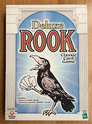 Deluxe Rook Classic Card Game No.1030 Complete Hasbro 1999