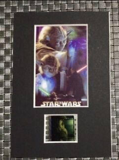Yoda Star Wars Limited Edition Character Film Montage