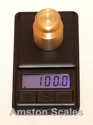 500 x 0.1 GRAM DIGITAL POCKET SCALE CARAT GRAIN TROY OUNCE PENNYWEIGHT MINI GOLD on Rummage