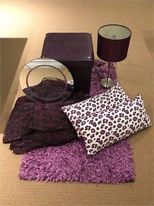 Purple Decor Items