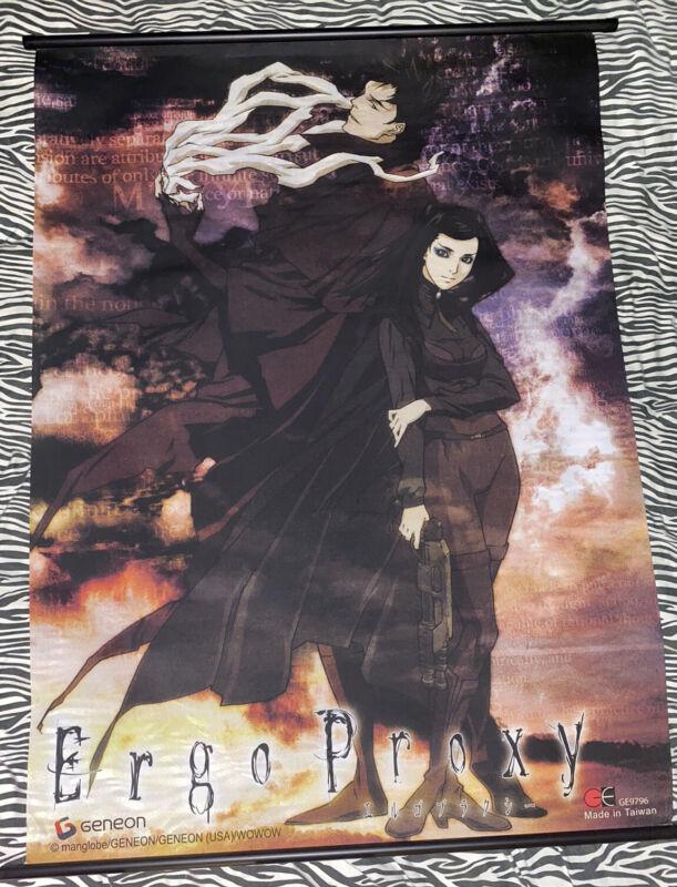 OFFICAL Anime Ergo Proxy 2006 Wall Scroll Anime GENEON