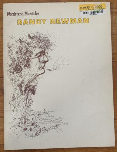 Randy Newman Musicbook 1975 Rare OOP - 21 Songs W/Discography Photos - $5.00