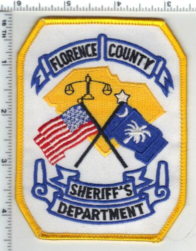 Florence County Sheriff (South Carolina) 2nd Issue Shoulder Patch
