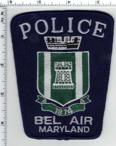 Bel Air Police (Maryland) 3rd issue uniform take-off shoulder patch