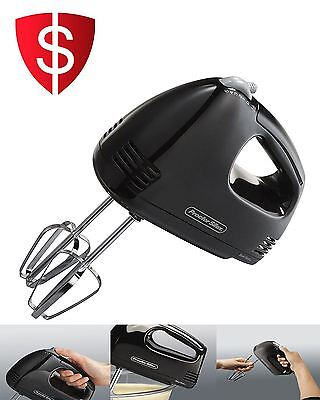Hand Held Electric Mixer Blender Kitchen Beater Mini Power Bakery Mixing Tool