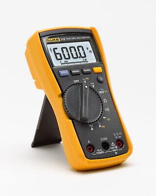 Fluke 115 Compact True-rms Digital Multimeter Acdc 600v Ammeter Ohmmeter Volt