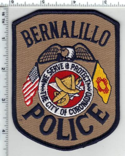Bernalillo Police (New Mexico) 1st Issue Shoulder Patch