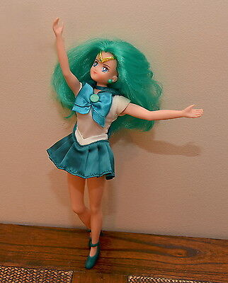 Sailor Neptune Deluxe Adventure Doll 11.5 inch Sailor Moon Irwin