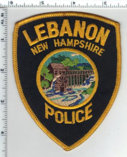 Lebanon Police (New Hampshire) 1st Issue Shoulder Patch