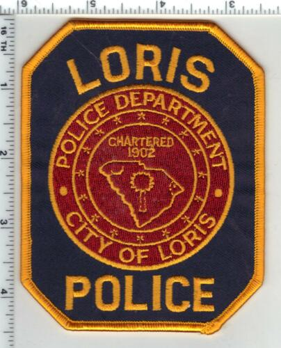 Loris Police (South Carolina) 2nd Issue Shoulder Patch
