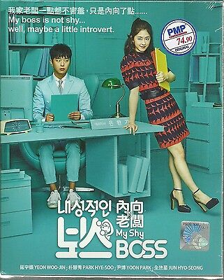 MY SHY BOSS - COMPLETE KOREAN TV SERIES DVD BOX SET ( 1-16 (My Shy Boss Korean Drama Ep 1)