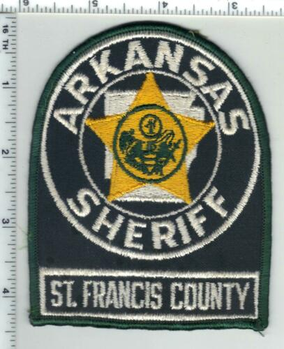 St. Francis County Sheriff (Arkansas) 1st Issue Shoulder Patch