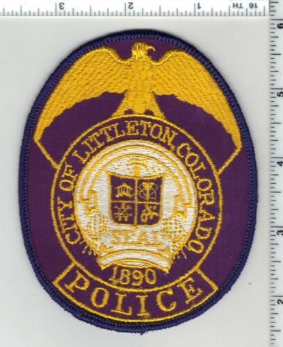 Littleton Police (Colorado) 1st Issue Uniform Take-Off Shoulder Patch