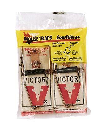 Metal Pedal Mouse Trap - M150 (3 Packs - 6 Traps)
