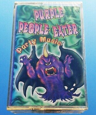 PURPLE PEOPLE EATER - HALLOWEEN PARTY SONGS (NEW SEALED CASSETTE) TRICK OR