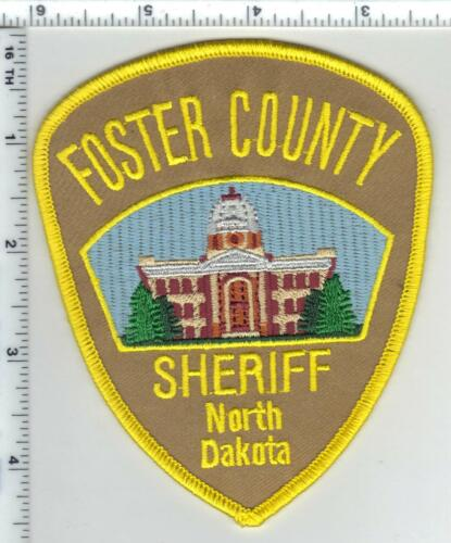 Foster County Sheriff (North Dakota) 3rd Issue Shoulder Patch