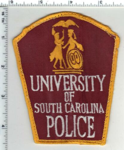 University of South Carolina Police 1st Issue Uniform Take-Off Shoulder Patch