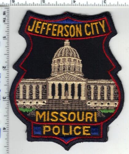 Jefferson City Police (Missouri) 1st Issue Shoulder Patch