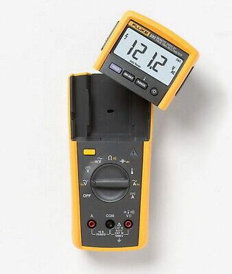 Fluke 233 Remote Display True-rms Digital Multimeter Acdc 1000v Radio Transmit