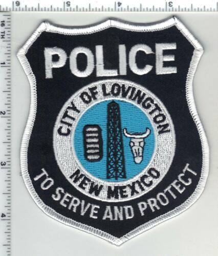 Lovington Police (New Mexico) 5th Issue Shoulder Patch