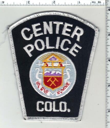 Center Police (Colorado) 1st Issue Uniform Take-Off Shoulder Patch