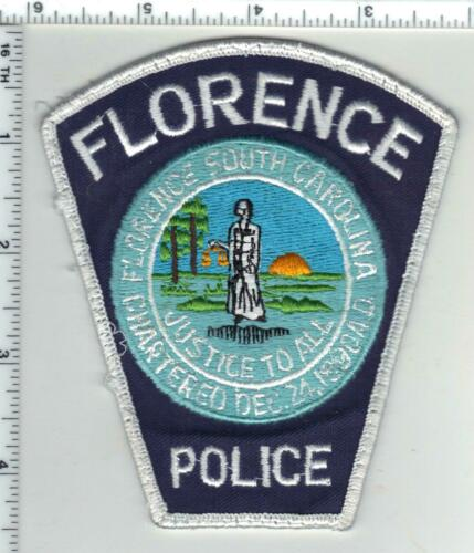 Florence Police (South Carolina) 4th Issue Uniform Take-Off Shoulder Patch