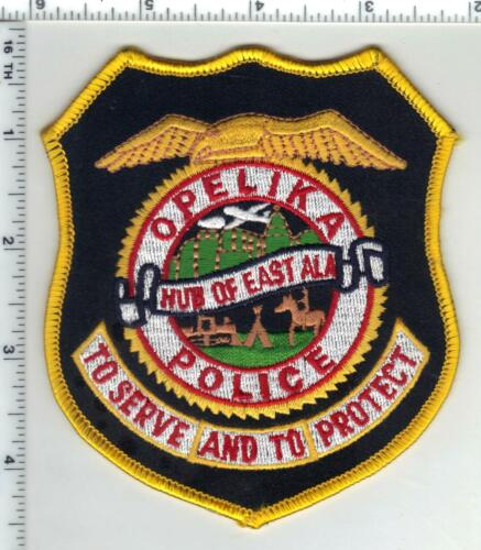 Opelika Police (Alabama) 3rd Issue Shoulder Patch