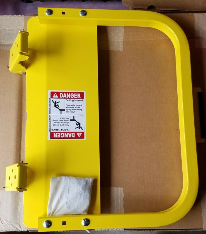PS Doors LSG-18-PCY - Safety Gate - Yellow - New - FREE SHIPPING.