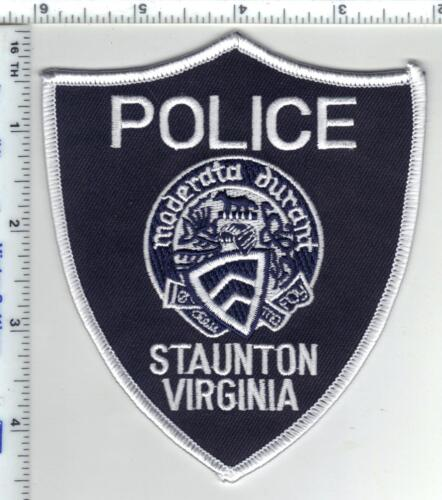 Staunton Police (Virginia) Shoulder Patch from the 1980