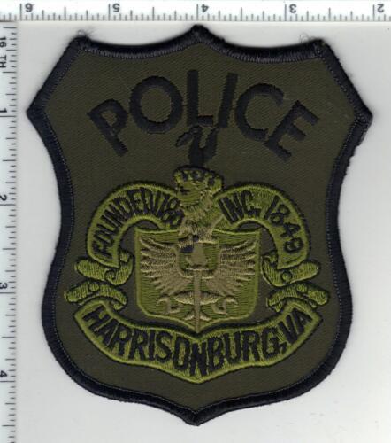 Harrisonburg Police (Virginia) 1st Issue Subdued Shoulder Patch