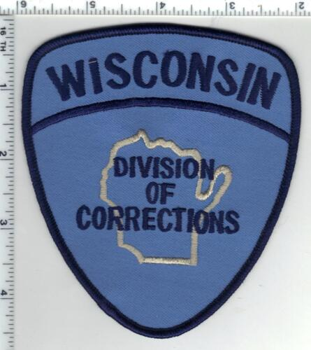Division of Corrections (Wisconsin) 2nd Issue Shoulder Patch