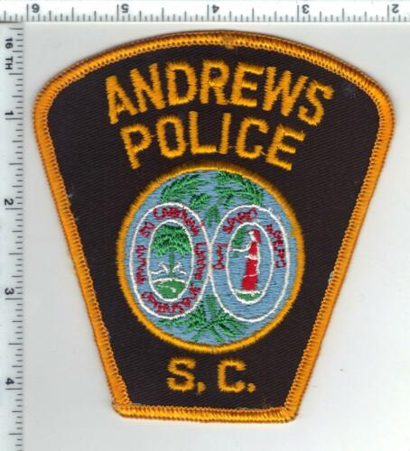 Andrews Police (South Carolina) Shoulder Patch from the 1980