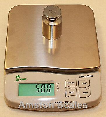 23 Off Usedopen Box 500 X 0.1 Gram Digital Scale 6 X 7 Platform Silver Gold