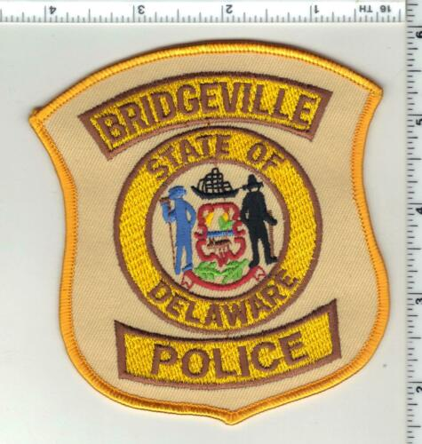 Bridgeville Police (Delaware) 4th Issue Shoulder Patch