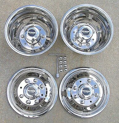 "17"" 05-18 FORD F350 F-350 Dually Wheel Simulators"